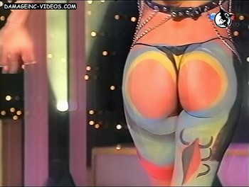 Iliana Calabro booty in thong damageinc-videos